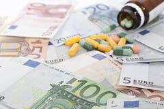 Υψηλό κόστος της υγειονομικής περίθαλψης Στοκ φωτογραφία με δικαίωμα ελεύθερης χρήσης