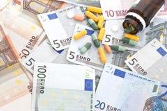 Υψηλό κόστος της υγειονομικής περίθαλψης Στοκ Εικόνες