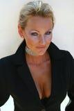 υψηλό μοντέλο μόδας clevage Στοκ φωτογραφία με δικαίωμα ελεύθερης χρήσης