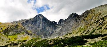 Υψηλό πανόραμα βουνών Tatra Στοκ Εικόνα