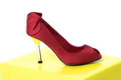 Υψηλό παπούτσι τακουνιών Στοκ φωτογραφίες με δικαίωμα ελεύθερης χρήσης