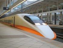υψηλό σύγχρονο τραίνο ταχύτητας Στοκ Εικόνα