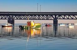 υψηλό ύδωρ walney καναλιών στοκ εικόνα με δικαίωμα ελεύθερης χρήσης