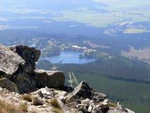 υψηλό pleso strbske tatr Στοκ εικόνες με δικαίωμα ελεύθερης χρήσης