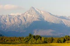Υψηλό Tatras, Σλοβακία στοκ εικόνες