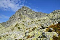 Υψηλό Tatras στη Σλοβακία Στοκ Εικόνες