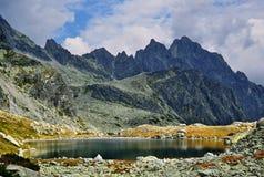 Υψηλό Tatras στη Σλοβακία Στοκ Εικόνα