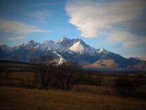 Υψηλό Tatras/υψηλό Tatras/συμπαθητικός προορισμός για τη χαλάρωση - ΣΛΟΒΑΚΙΑ στοκ εικόνες