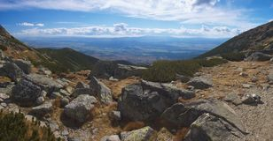 Υψηλά βουνά σλοβάκικα Tatry Στοκ φωτογραφίες με δικαίωμα ελεύθερης χρήσης