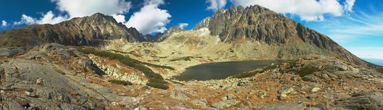 Υψηλά βουνά σλοβάκικα Tatry Στοκ φωτογραφία με δικαίωμα ελεύθερης χρήσης