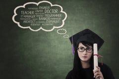 Υψηλά όνειρα στην εκπαίδευση Στοκ Φωτογραφίες