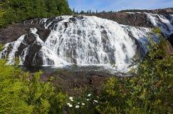 Υψηλές πτώσεις κισσών, Οντάριο, Καναδάς Στοκ Εικόνες