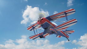 Υψηλής απόδοσης αεροπλάνο απόθεμα βίντεο