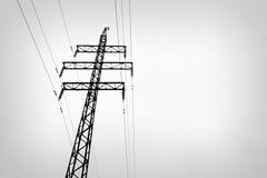 Υψηλής τάσεως γραμμή Στοκ φωτογραφία με δικαίωμα ελεύθερης χρήσης