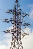 Υψηλής τάσεως ηλεκτρικός εξοπλισμός Στοκ εικόνες με δικαίωμα ελεύθερης χρήσης