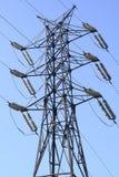 Υψηλής τάσεως ηλεκτροφόρο καλώδιο Στοκ φωτογραφία με δικαίωμα ελεύθερης χρήσης