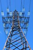 Υψηλής τάσεως πύργος Στοκ Φωτογραφία