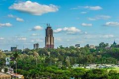 Υψηλή κατασκευή Αφρική ανόδου Στοκ Εικόνες