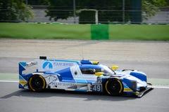 Υψηλή κατηγορία που συναγωνίζεται το αθλητικό πρωτότυπο Dallara Στοκ φωτογραφία με δικαίωμα ελεύθερης χρήσης
