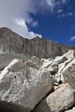 Υψηλή οροσειρά σωρός λίθων στοκ φωτογραφία