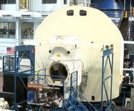 Υψηλή πίστη EVA της NASA που εκπαιδεύει την περιοχή κάτω από την κατασκευή Στοκ φωτογραφίες με δικαίωμα ελεύθερης χρήσης