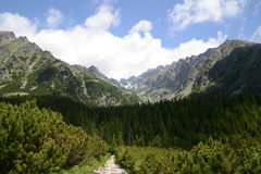 Υψηλή πορεία Tatras Στοκ φωτογραφία με δικαίωμα ελεύθερης χρήσης