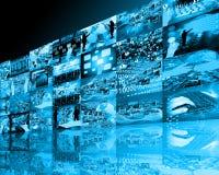 Υψηλή τεχνολογία τοίχων Στοκ Εικόνες