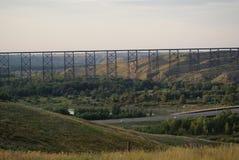 Υψηλού επιπέδου γέφυρα Στοκ Εικόνες