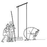 Υψηλός αθλητισμός αθλητών άλματος Στοκ εικόνα με δικαίωμα ελεύθερης χρήσης