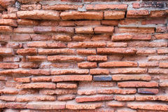υψηλός παλαιός τοίχος σύστασης ποιοτικής κόκκινος διάλυσης φωτογραφιών τούβλου ανασκόπησης Στοκ Εικόνες