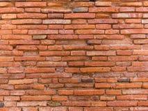 υψηλός παλαιός τοίχος σύστασης ποιοτικής κόκκινος διάλυσης φωτογραφιών τούβλου ανασκόπησης Στοκ φωτογραφίες με δικαίωμα ελεύθερης χρήσης