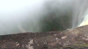 Υψηλότερος ενιαίος καταρράκτης πτώσης στον κόσμο, Kaieteur στη Γουιάνα απόθεμα βίντεο