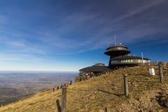 Υψηλότερος λόφος της Τσεχίας - Snezka Στοκ εικόνες με δικαίωμα ελεύθερης χρήσης