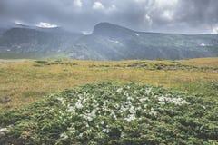 υψηλό βουνό τοπίων δραματικός ουρανός Στοκ φωτογραφία με δικαίωμα ελεύθερης χρήσης