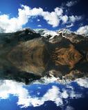 υψηλό βουνό cordilleras Στοκ Φωτογραφία