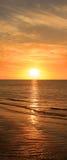 υψηλό ηλιοβασίλεμα θάλασσας διάλυσης jpg Στοκ Εικόνες