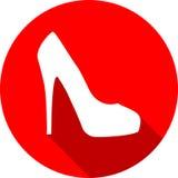 υψηλό κόκκινο παπούτσι τα&ka ελεύθερη απεικόνιση δικαιώματος