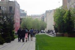 Υψηλό πάρκο NYC Tom Wurl γραμμών Στοκ εικόνα με δικαίωμα ελεύθερης χρήσης