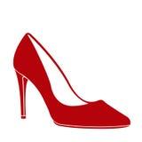 Υψηλό παπούτσι τακουνιών Στοκ φωτογραφία με δικαίωμα ελεύθερης χρήσης
