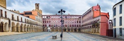 Υψηλό τετράγωνο, Badajoz, Ισπανία Plaza Alta Στοκ Φωτογραφία