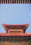 Υψηλό όμορφο περίπτερο παραδοσιακού κινέζικου Στοκ φωτογραφία με δικαίωμα ελεύθερης χρήσης