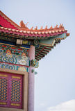 Υψηλό όμορφο περίπτερο παραδοσιακού κινέζικου Στοκ Φωτογραφία