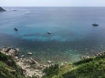 Υψηλό Koh διακοπών παραλιών άποψης αγγέλου νησί Ταϊλάνδη Tao Στοκ Εικόνες