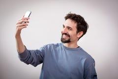 Υψηλό selfie Στοκ Εικόνα