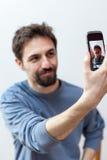 Υψηλό selfie Στοκ Εικόνες