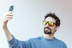 Υψηλό selfie Στοκ Φωτογραφία
