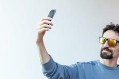 Υψηλό selfie Στοκ εικόνα με δικαίωμα ελεύθερης χρήσης
