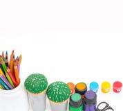 Υλικά για τη δημιουργικότητα Στοκ φωτογραφία με δικαίωμα ελεύθερης χρήσης