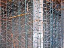 Υλικά σκαλωσιάς κατασκευής Στοκ εικόνες με δικαίωμα ελεύθερης χρήσης