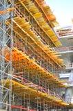 Υλικά σκαλωσιάς κατασκευής Στοκ Φωτογραφία
